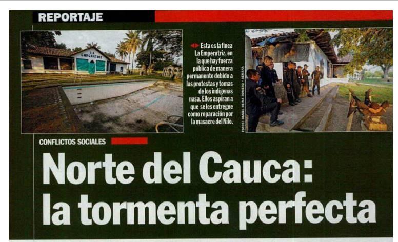 Norte del Cauca: la tormenta perfecta