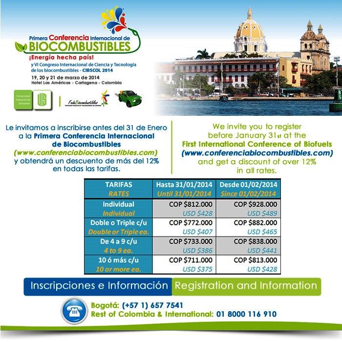 Primera Conferencia Internacional de Biocombustibles